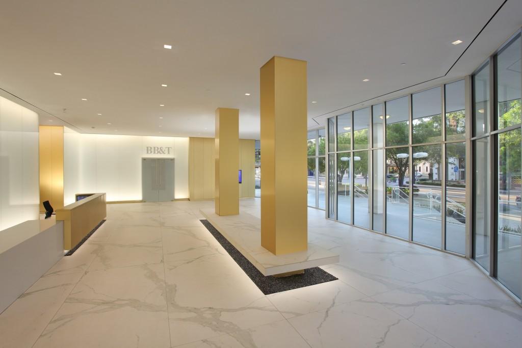 Gensler Designed Lobby