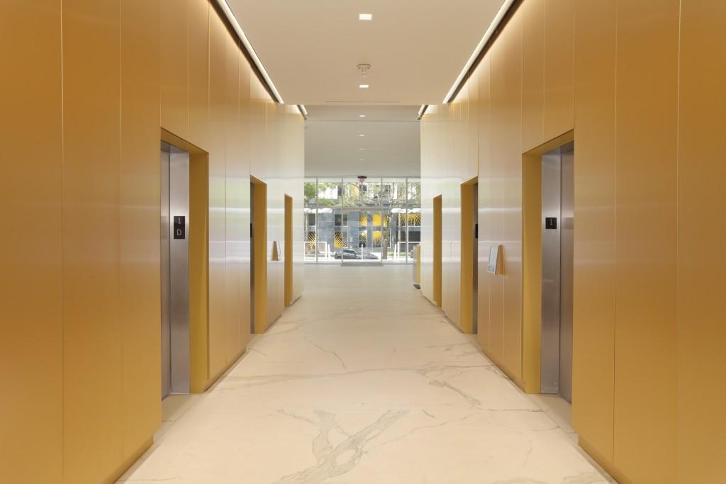 Lobby Elevator Bank